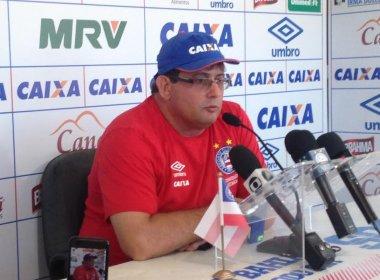 Guto Ferreira indica elenco do Bahia focado nos treinos da pré-temporada