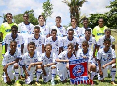 Infantil e juvenil do Bahia empatam na estreia da Copa Redeball