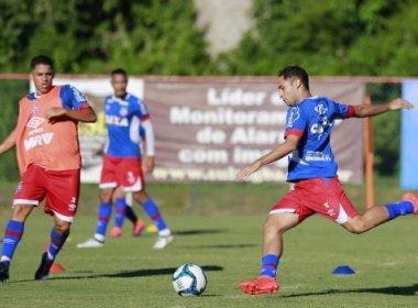 Ainda sem Armero, Bahia segue preparação para estreia na Copa do Nordeste