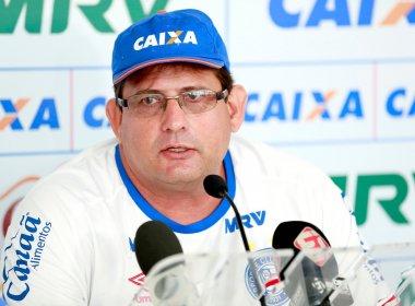 'Bahia não encontrou ainda a peça ideal', diz Guto Ferreira sobre busca por atacante