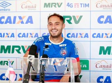 Em meio a rodízio, Régis se põe à disposição do Bahia: 'Por mim, jogava todos os jogos'