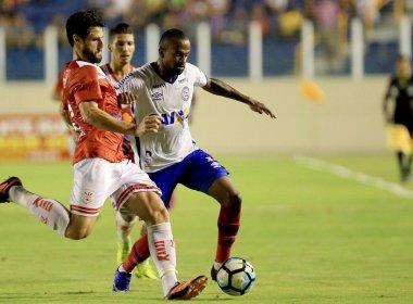 Artilheiro do Bahia em 2017, Diego Rosa diz estar se readaptando ao futebol do Brasil