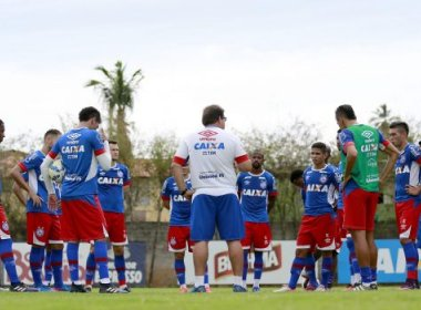 Bahia tem 20 atletas relacionados para enfrentar a Juazeirense