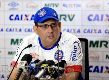 Guto Ferreira faz mistério sobre equipe que enfrenta o Fluminense de Feira