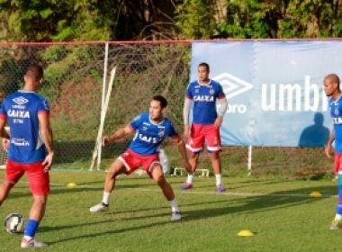 No Fazendão, Bahia finaliza preparação para enfrentar o Fluminense de Feira