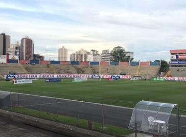 Após adiamento, CBF cancela jogo entre Paraná e Bahia pela Copa do Brasil