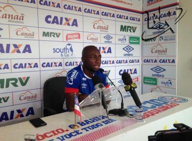 Lateral do Bahia, Armero vive expectativa de ser convocado pela Colômbia