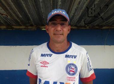 Aroldo Moreira fala sobre estreia do Bahia no estadual sub-20: 'Expectativa grande'