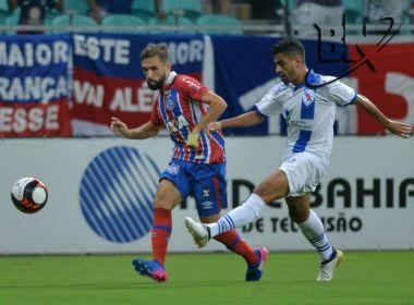 Allione comenta sobre gol de pênalti e celebra mais um triunfo do Bahia no Baianão