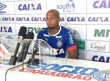 Wellington Silva comemora 1ª partida pelo Bahia: 'Agora é dar continuidade'