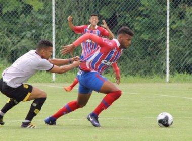 Em amistoso, sub-20 do Bahia e Ypiranga empatam no Fazendão