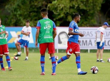 Sem Renato Cajá, Bahia treina com time alternativo para pegar o Fla de Guanambi