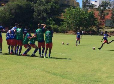 Bahia encerra preparação e viaja para Guanambi neste sábado