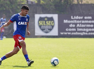 Bahia finaliza preparação para enfrentar o Sergipe com tático e bolas paradas