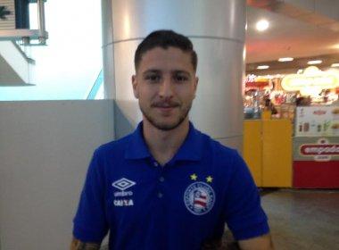 Pai de primeira viagem, Zé Rafael celebra fim de jejum de gols no Bahia