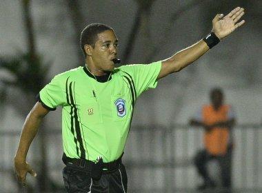 Emerson Ricardo de Almeida apita confronto entre Atlântico e Bahia