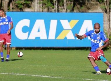 Com vídeo e treino tático, Bahia finaliza preparação para enfrentar o Atlântico
