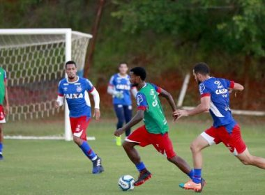 Academia e fisioterapia: Bahia segue preparação para semifinal do Baianão