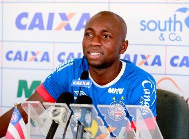 Escolhido como capitão no Bahia, Armero celebra: 'Importante para mim'