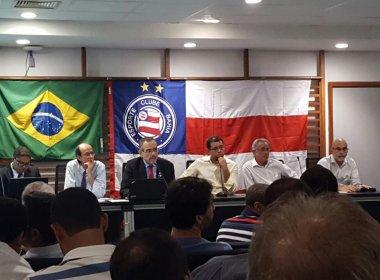 Em reunião, Conselho do Bahia autoriza pedido de empréstimo de até R$ 17 milhões