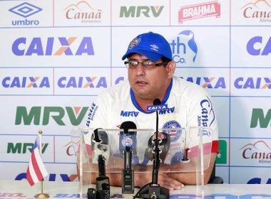 Guto evita acomodação com vantagem do Bahia: 'Temos que jogar nosso melhor'