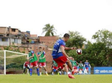Bahia relaciona 22 atletas para enfrentar o Fluminense de Feira