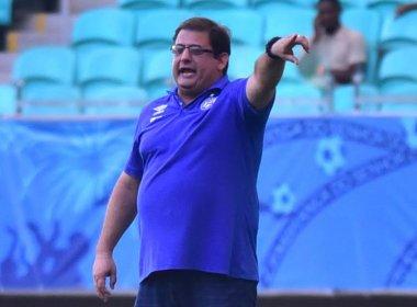 'Queria poder vencer de forma melhor', diz Guto após jogo contra o Flu de Feira