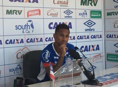De volta após suspensão, Eduardo confia em classificação do Bahia