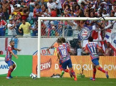 Bahia vence o Vitória na Arena Fonte Nova e se classifica para final da Copa do Nordeste