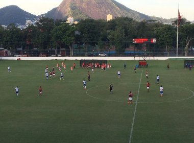 Copa do Brasil sub-20: Bahia perde para o Flamengo no primeiro jogo das quartas