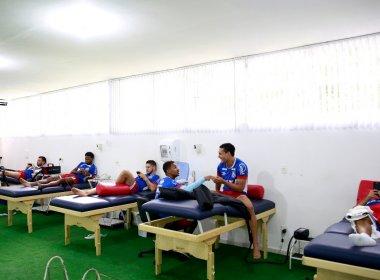 Com regenerativo para os titulares, Bahia se reapresenta de olho na decisão do Baiano