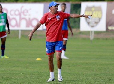 Sub-20 do Bahia encerra preparação para enfrentar o Flamengo