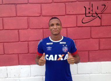 Rodrigo Becão renova com o Bahia até dezembro de 2019