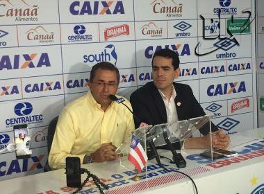 Bahia fecha patrocínio com a Centraltec para a sequência da temporada