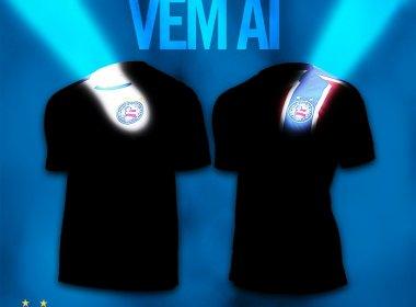 Umbro divulga detalhes das novas camisas do Bahia; confira fotos