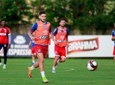 Sem Armero, Bahia reforça parte tática para enfrentar o Atlético Paranaense