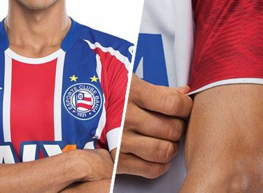 No Facebook, Umbro divulga padrão 2 do uniforme do Bahia