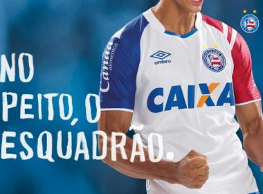 Em evento na Arena Fonte Nova, Bahia lança novos uniformes para 2017