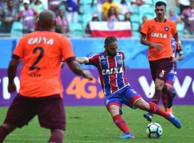 Autor de dois gols, Régis enaltece departamento médico do Bahia