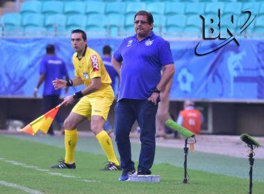 Pensando na final, Guto Ferreira diz que elenco manterá os pés no chão após goleada