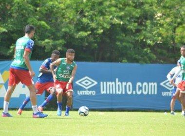 Com treino tático, Bahia finaliza preparação para enfrentar o Sport