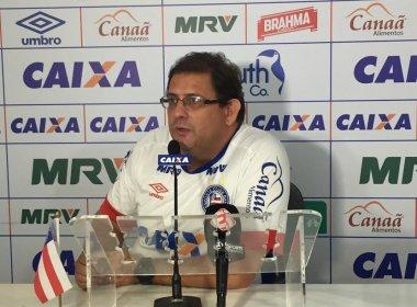 Técnico do Bahia não descarta escalação de time misto contra o Vasco