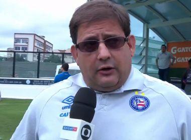 Guto Ferreira elogia postura do Bahia: 'A equipe não se abateu, continuamos buscando'