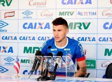 Para Tiago, o Bahia começou o jogo apático: 'Uma desatenção nossa tomamos o gol'