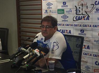 Na véspera da final, Guto prega respeito ao Sport: 'Não temos nada conquistado'