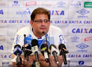 Técnico do Bahia não revela escalação e homenageia campeões de 88 em entrevista
