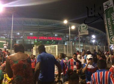 Copa do Nordeste: movimento já é grande no entorno da Arena Fonte Nova