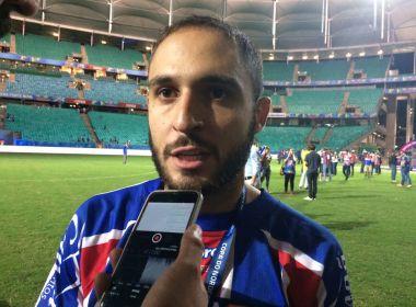Régis comemora título nordestino e diz que pretende continuar no Bahia