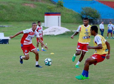Com grupo dividido, Bahia inicia preparação para enfrentar o Botafogo