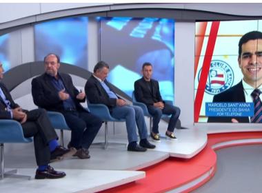 Presidente do Bahia explica veto de Guto em programa e diz não pensar em outro técnico